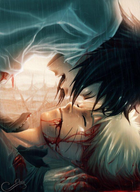 Sasuke prend conscience d'une évidence... C'est quand on est au bord du précipice qu'on s'aperçoit de nos erreurs...