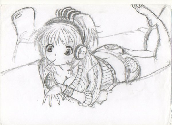 Dessins mangas blog de fan de manga95 - Fille manga a dessiner ...