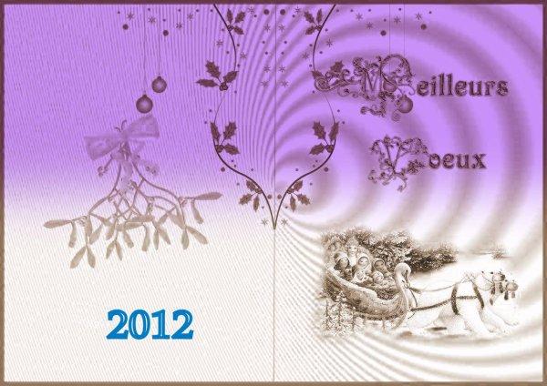 meilleurs voeux a tous pour 2012