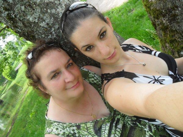 moi et ma fille kathleen