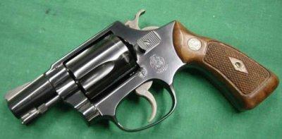 Holster de ceinture undercover pour les revolvers Smith & Wesson mod 36.