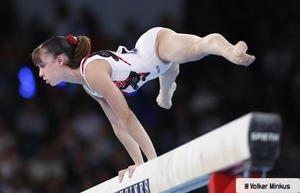Gymnastique artistique féminine Poutre