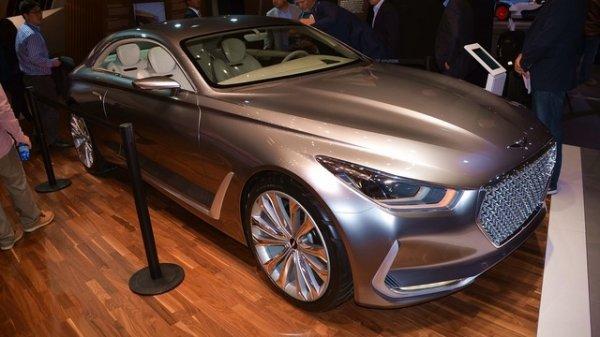 Francfort 2015 live : Hyundai Vision G Concept