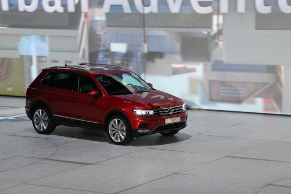 Francfort 2015 live : Volkswagen Tiguan