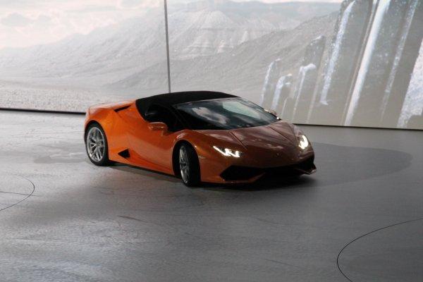 Francfort 2015 live : Lamborghini Huracán LP 610-4 Spyder