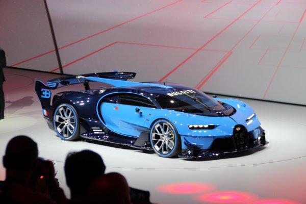 Francfort 2015 live : Bugatti Vision Gran Turismo