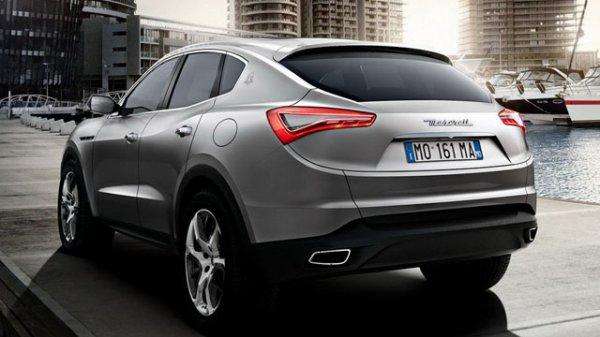 Le Maserati Levante sera au salon de Genève 2016
