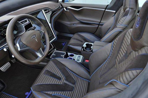 Tuning : Tesla Model S par Brabus