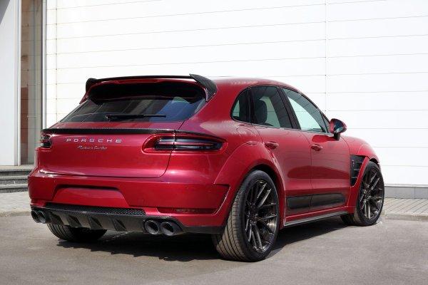 Porsche Mancan URSA by TopCar