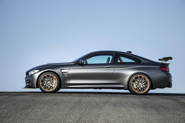 BMW officialise la M4 GTS