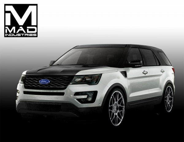 SEMA 2015 : Ford Explorer puissance quatre