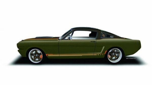 SEMA 2015 : RingBrothers et une Ford Mustang fastback