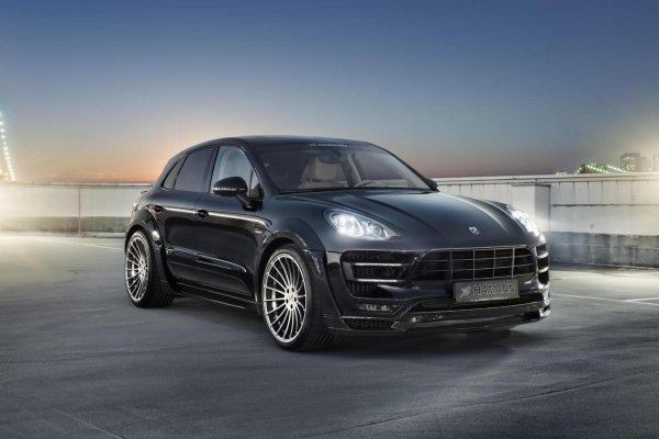 Hamann et le Porsche Macan S Diesel