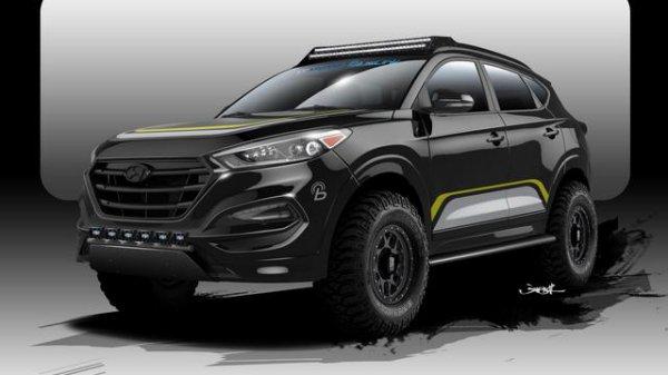 SEMA 2015 : Hyundai et Rockstar Performance Garage croquent un Tucson