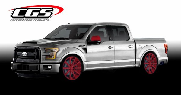 Army Of Customized Ford F-150s Marching To Las Vegas