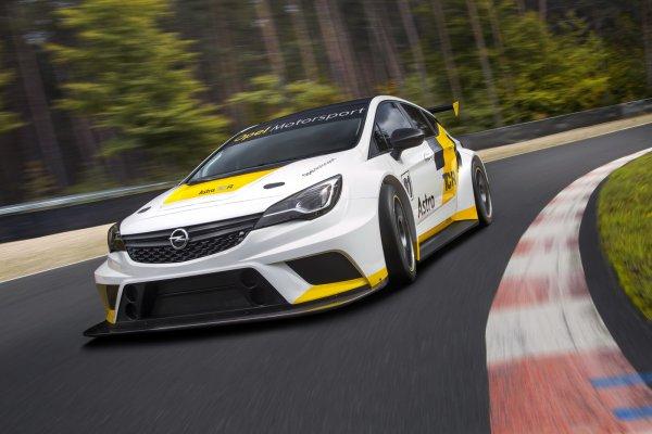 Nouveauté course : Opel Astra TCR