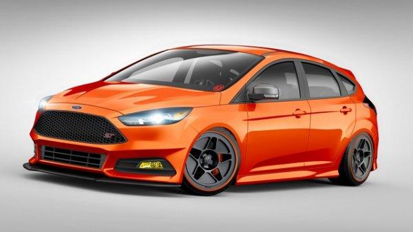SEMA 2015 : Ford Focus ST