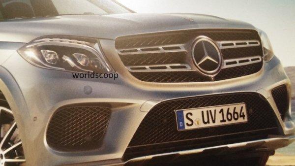 Le Mercedes GLS Fuité