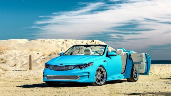 SEMA 2015 : Kia Optima A1A