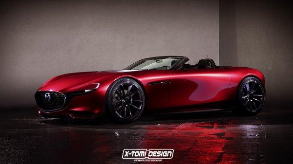 Mazda RX-Vision Concept cabriolet : un look phénoménale ! dans le monde virtuel bien sur!