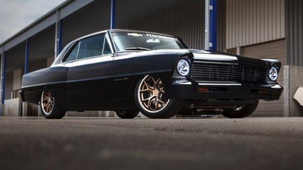 SEMA 2015 : Chevrolet Nova 1967 2.0