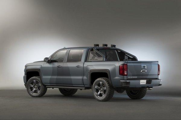 SEMA 2015 : Chevrolet Silverado Special-Ops Concept