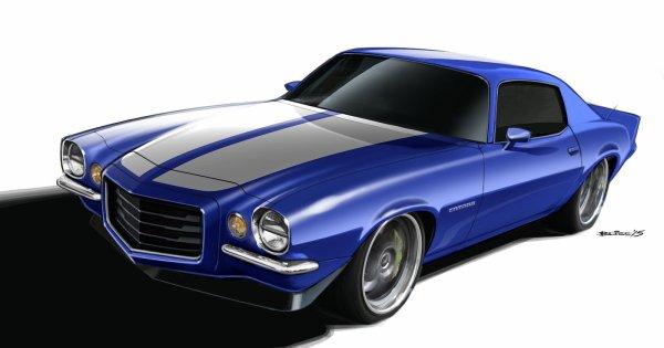 SEMA 2015 : Classic Chevrolet Camaro avec un moteur Supercharged ZO6