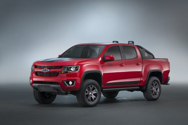 SEMA 2015 : Chevrolet Colorado Z71 Trail Boss 3.0