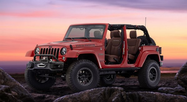 SEMA 2015 : Jeep Wrangler Red Rock Concept