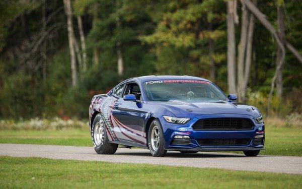 SEMA 2015 : Ford's 8-Sec 1/4 Mile 2016 Cobra Jet Mustang