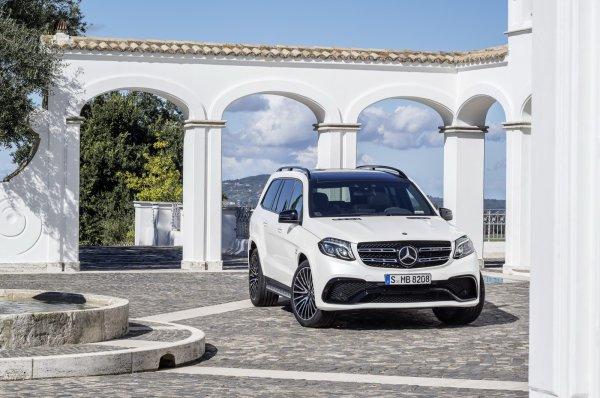Salon Los Angeles 2015 : Mercedes GLS 63 AMG