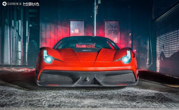 Misha Design Ferrari 458 Italia