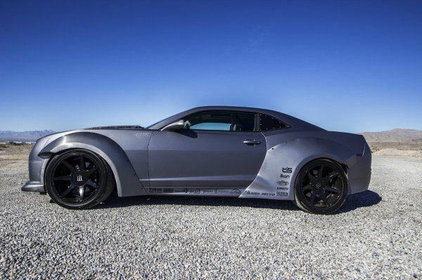 SEMA 2015 : All-Wheel-Drive Chevrolet Camaro 650 ch