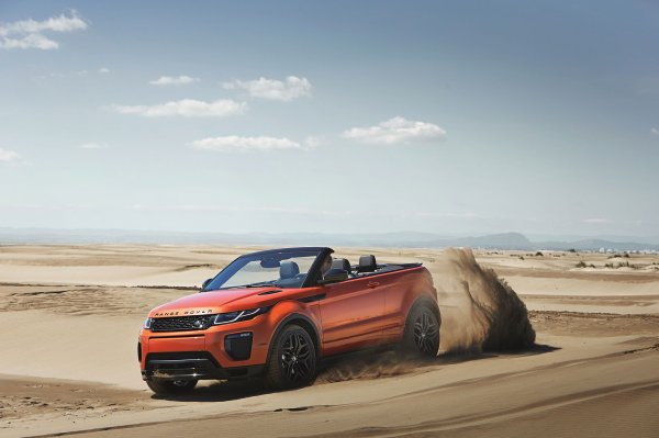Los Angeles 2015 : Range Rover Evoque Cabrio