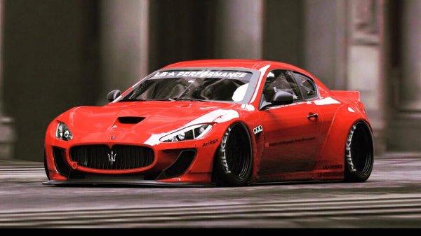 Maserati GranTurismo Sport By Liberty Walk