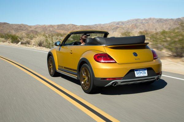 Salon Los Angeles 2015 : Volkswagen Beetle Dune
