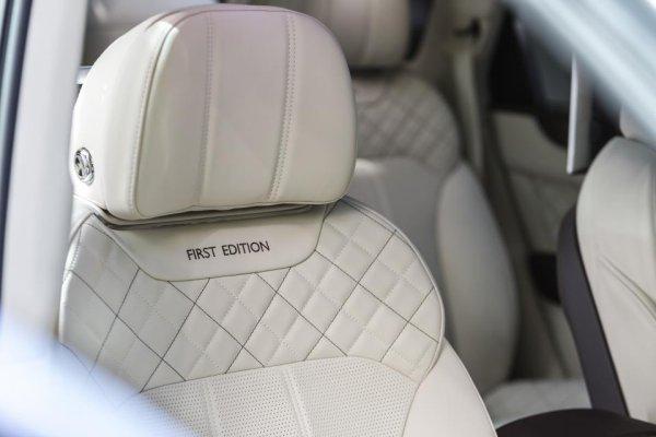 Bentley Bentayga First Edition : toujours plus premium
