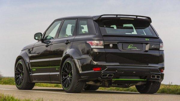 Lumma Design et un Range Rover Sport SVR