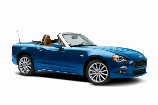 Los Angeles 2015 : Fiat 124 Spider