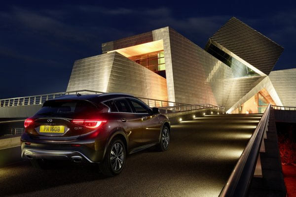 Salon de Los Angeles : Infiniti QX30 Compact Crossover : officielle