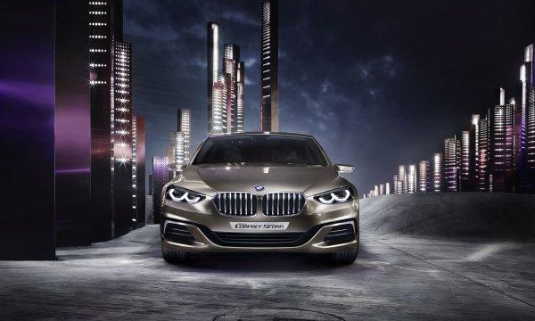 Guangzhou 2015 : BMW Concept Compact Sedan