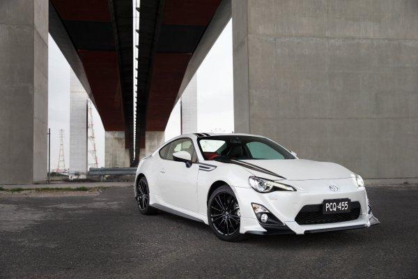 Toyota 86 Blackline pour l'Australie