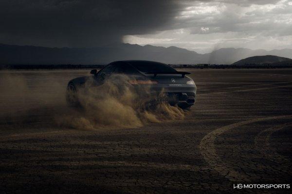 HG Motorsports et une Mercedes-AMG GT S