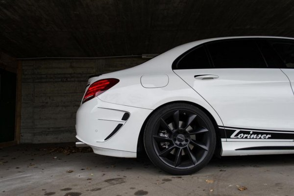 Mercedes C450 AMG  by Lorinser