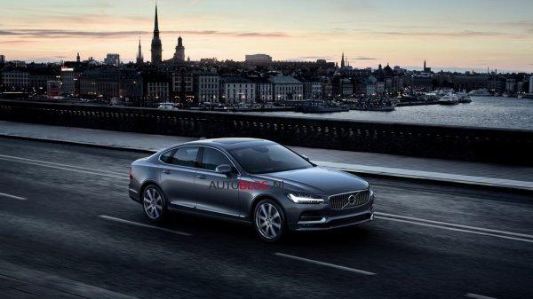 FUITE : la Volvo S90 en avance