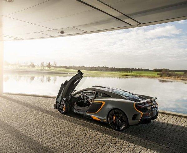 Une McLaren 675LT MSO