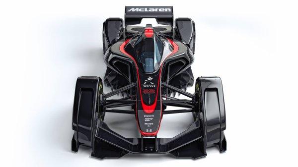 Quand McLaren envisage la F1 du futur