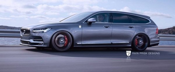 La Futur Volvo V90 Polestar imaginé