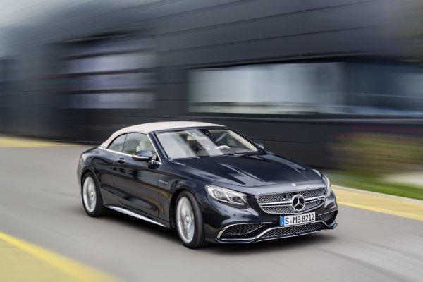 Mercedes Classe S Cabriolet : arrivée du V12 de 630 ch