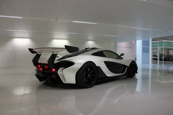 McLaren P1 GTR in Black and White !